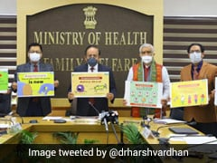 """""""Covid Vaccines Completely Safe, Ignore Rumours"""": Health Minister"""