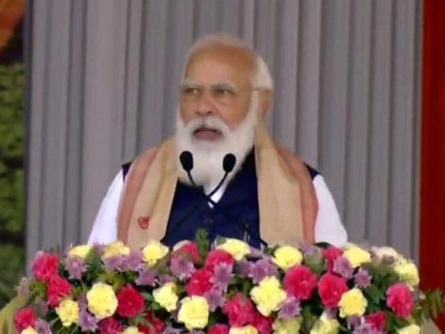Video : PM Distributes Land Allotment Certificates In Assam, Next Stop Kolkata