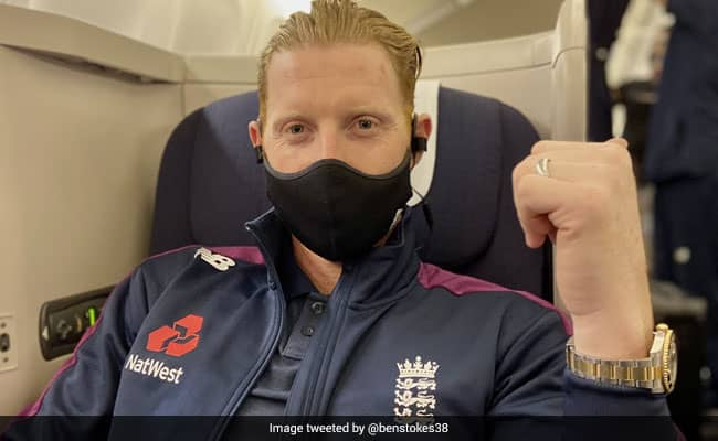 """""""See You Soon"""": Ben Stokes Leaves For India Ahead Of Test Series"""