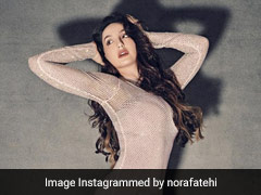 Nora Fatehi Ups The Style Quotient Of The Season In A Stunning Sequined Gown