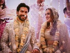 Varun-Natasha Wedding: वरुण नताशा, की शादी के स्पेशल लड्डू, यहां देखें कपल की कई तस्वीरें!
