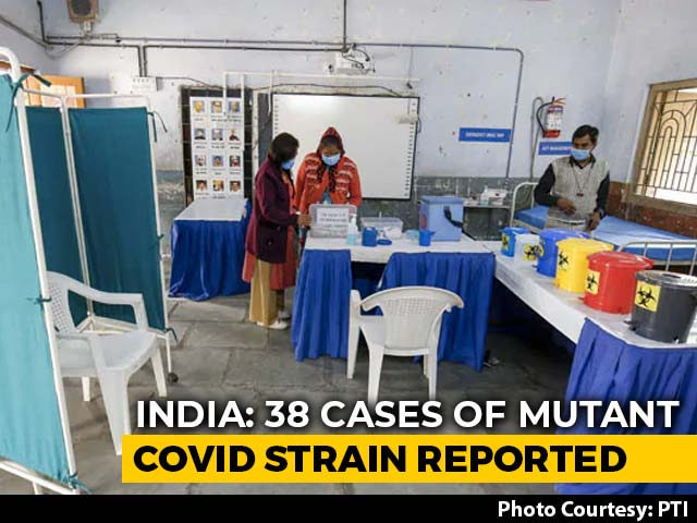 Video : 9 More Cases Of UK Mutant Strain In India, Total Surges To 38