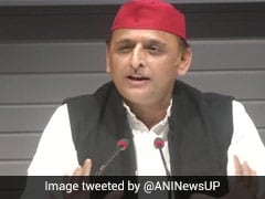 """Colour Reflects Emotions"": Akhilesh Yadav On Yogi Adityanath's Red Cap Jibe"