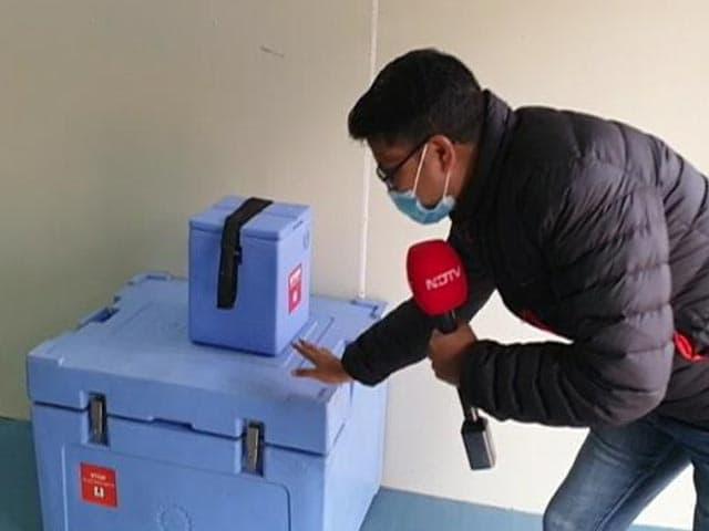 Video : Anti-Covid Vaccines Reach Assam