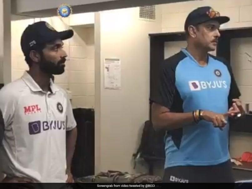 Australia vs India: Ravi Shastris Rousing Dressing Room Speech After Indias Gabba Heroics. Watch