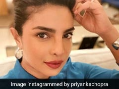 """Priyanka Chopra Has Become An """"Updo Expert"""" For Her Stylish Spin To WFH Attire"""