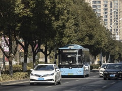 Now In China, Smart Roads That Talk To Driverless Cars
