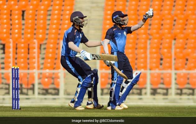 Watch: Solankis 6 Off Final Ball Fires Baroda Into Mushtaq Ali Semis