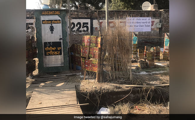 NGO Installs Bio-Toilets At Delhi Border For Women At Farmers' Protest
