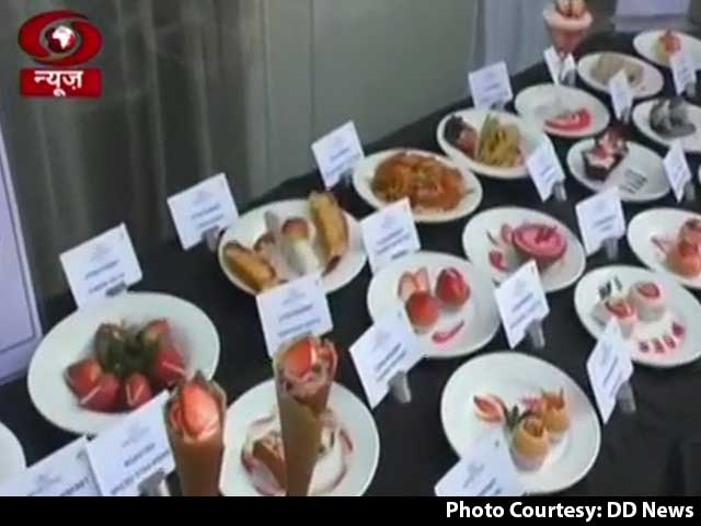 "Video : ""Strawberry Festival"" In UP Highlight Of PM's 1st Radio Address This Year"