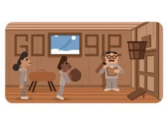 "Google Doodle's ""Thank You"" To James Naismith, The Father Of Basketball"