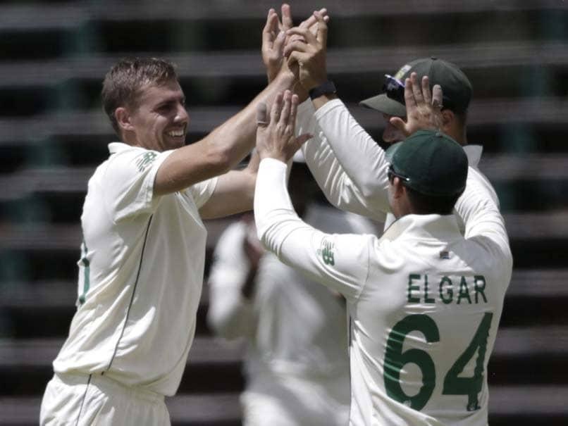 2nd Test, Day 1: Anrich Nortje, Dean Elgar Help South Africa Dominate Sri Lanka