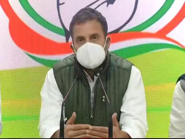 Video : Make Rahul Gandhi Congress Chief Again, Says Delhi Unit In Resolution