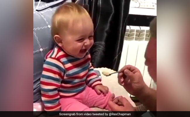 This Video Of A Giggling Baby Is The Cutest Thing You'll See Today