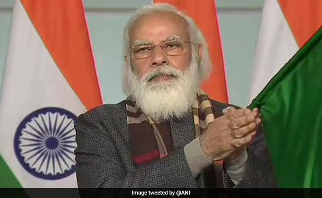 'Historic Day': PM Flags Off 8 Trains To Boost Tourism To Statue Of Unity