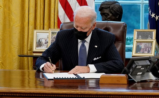 Joe Biden Signs 'Buy American' Order, Pledges To Renew US Manufacturing