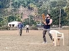 In Assam, Ayushmann Khurrana Plays Cricket - Cheered On By Adorable Squad