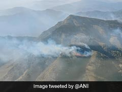 Air Force Continues Operations To Douse Dzouko Wildfire At Manipur-Nagaland Border