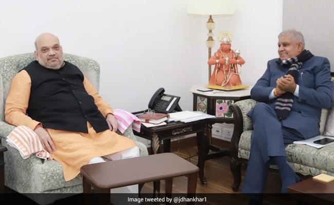 Bengal Governor Talks About Poll Violence History After Meeting With Amit Shah