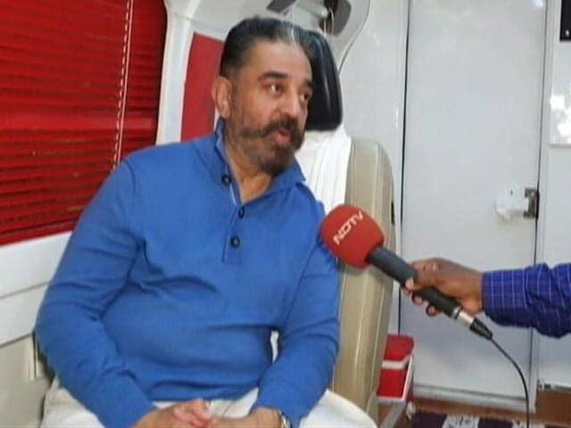 Video : Invoking MGR Is My Salute To Him: Kamal Haasan