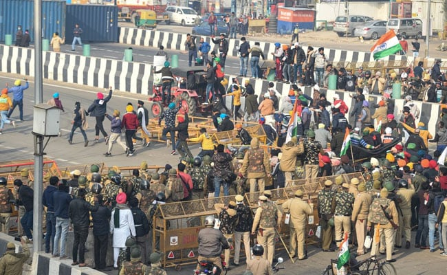 Day After Clashes, Farmer Leaders To Address Protesters Today: 10 Points