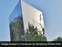 """India's First """"Mysterious"""" Monolith Spotted In Ahmedabad Park"""