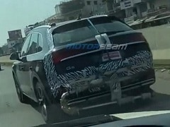 2021 Audi Q5 Facelift Spied Testing In India