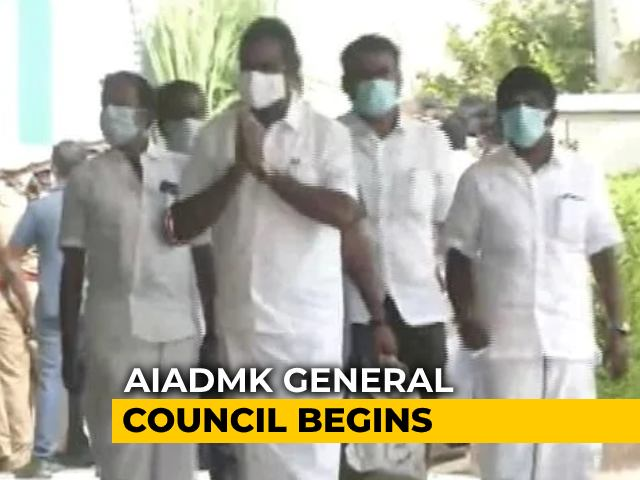 Video : Months Ahead Of Polls, AIADMK Endorses E Palaniswami, Snubs BJP Again