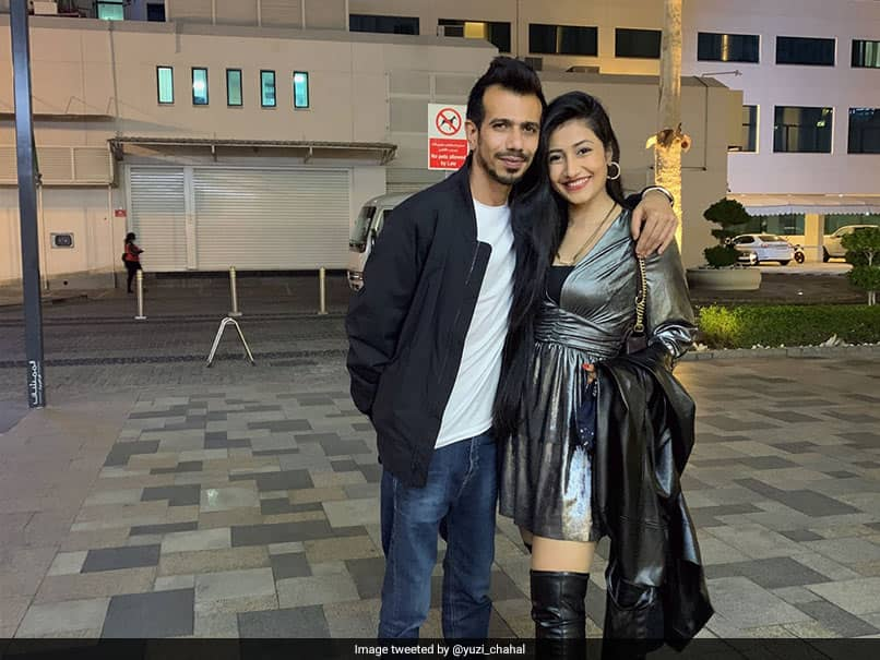 Happy New Year 2021: Yuzvendra Chahal Wishes Fans On New Year, Posts Cute Photo With Wife Dhanashree Verma