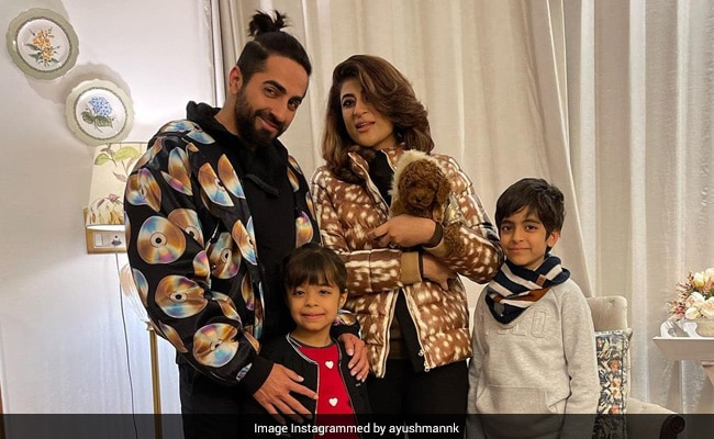 'I See My Reflection In You': Ayushmann Khurrana's Adorable Birthday Wish For Son Virajveer