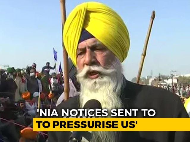 Video : Probe Agency Summons 40 People Including Farmers' Leader, Punjabi Actor