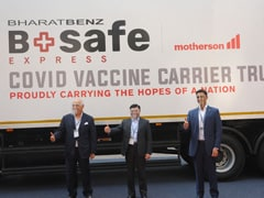 Bharat-Benz And Motherson Collaborate To Provide Logistics For COVID-19 Vaccine Transportation