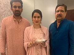 """Sagarika Ghatge, Who Lost Her Father, Writes """"Thank You For Teaching Me How To Be Brave"""""""
