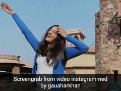 गौहर खान ने खास अंदाज में पति जैद दरबार से किया प्यार का इजहार, बोलीं तुम मिले... देखें Video