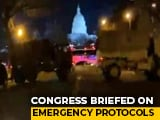 Video : Countdown To Biden-Harris Inauguration: US Capital Heavily Guarded