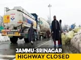 Video : Jammu-Srinagar Highway Closed Due To Restoration Work