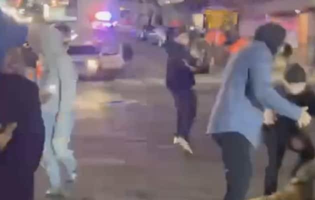 US Police Car Plows Through Crowd Watching Street Race, 1 Injured