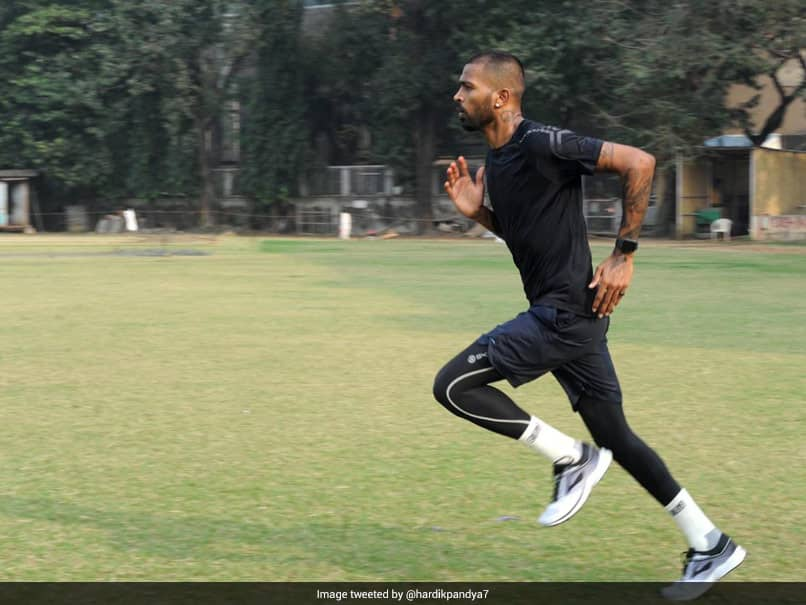 Hardik Pandya Seen Sweating It Out In Training Session. See Pics