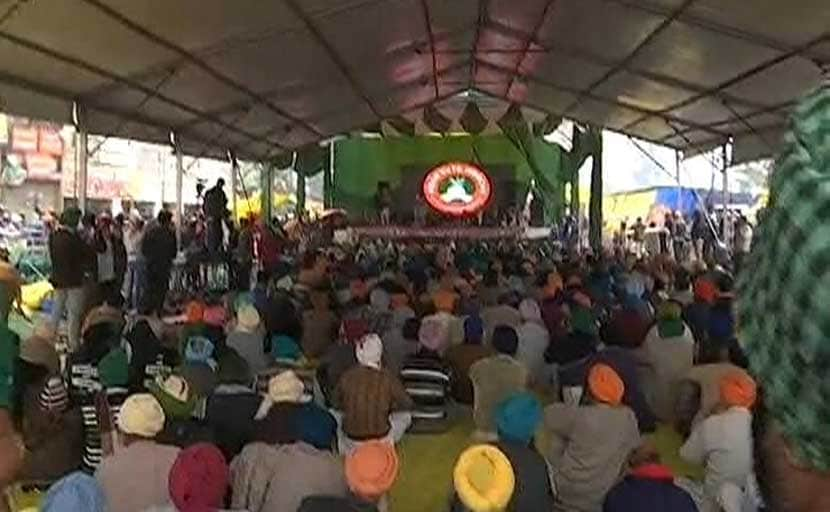 15 Farmers Sit On Hunger Strike In UP's Noida Against Farm Laws