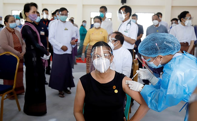 Myanmar Launches Covid Vaccination Drive, Prioritises Healthcare Workers