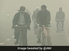 "Delhi's Air Quality In ""Severe"" Category, Visibility Low Due to Fog"