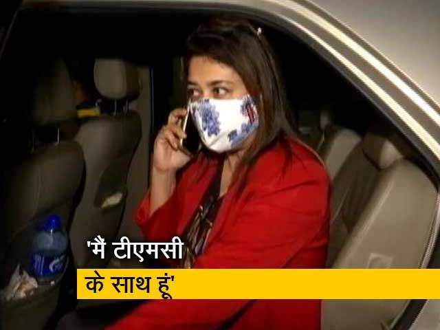 Videos : TMC सांसद शताब्दी रॉय ने खत्म किया सस्पेंस, बनीं रहेंगी पार्टी