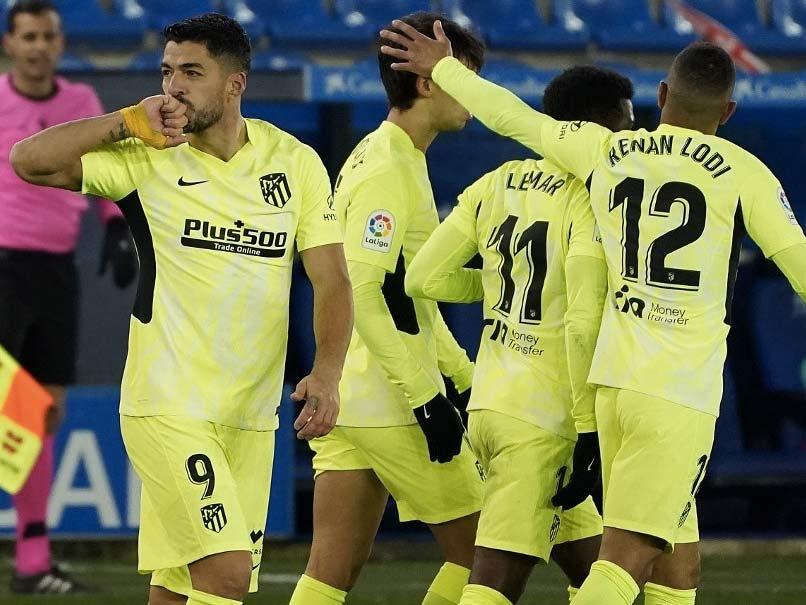 La Liga: Luis Suarezs Late Winner Takes Atletico Madrid Back On Top