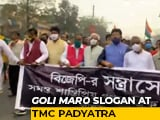 "Video : ""<i>Goli Maaro</i>"" Slogan Returns, This Time At Trinamool's Bengal Rally"