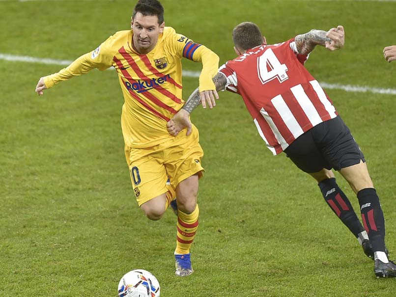 Lionel Messi Double Gives Barcelona Renewed Hope In La ...