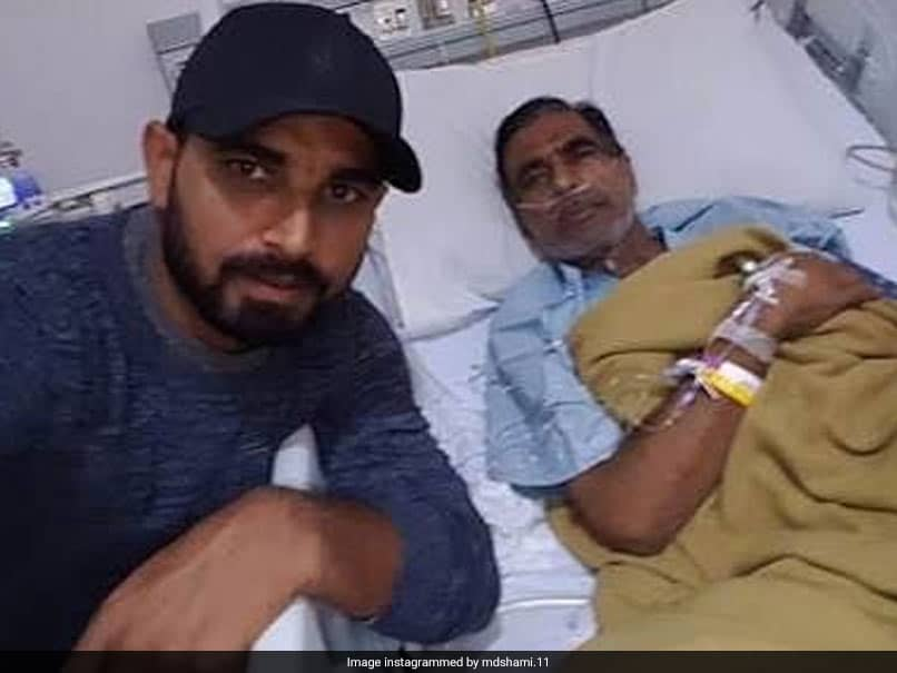 """Mohammed Shami Pens Emotional Tribute To Father, Says """"Proud To Be Your Son"""""""