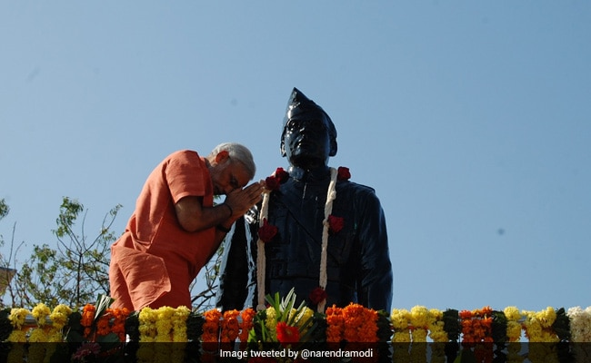 Subhas Chandra Bose Jayanti: PM Modi Tweets Pics Of His Haripura Visit