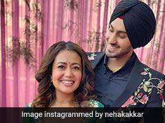 नेहा कक्कड़ रोहनप्रीत सिंह के साथ सेलिब्रेट कर रहीं अपनी पहली लोहड़ी, शेयर की Photos
