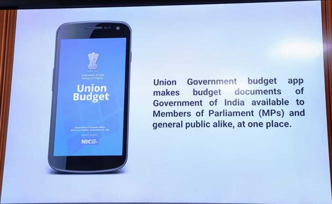 Finance Minister Launches Union Budget Mobile App: All You Need To Know