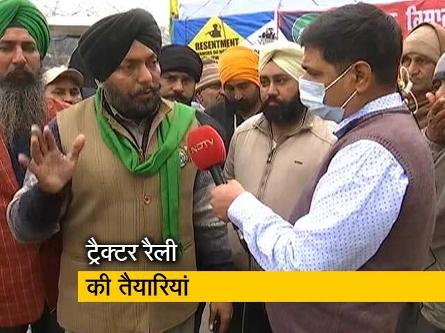 Videos : हमारे लाखों ट्रैक्टर आ रहे हैं : किसान नेता मंजीत राय